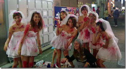 Shibuya Halloween Brides1