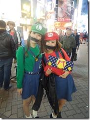 Shibuya Mario & Luigi