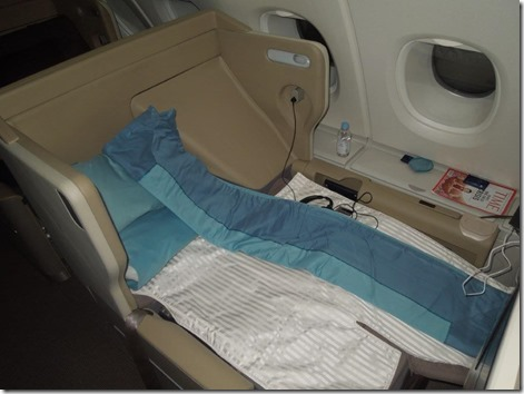 A380 Seat Bed
