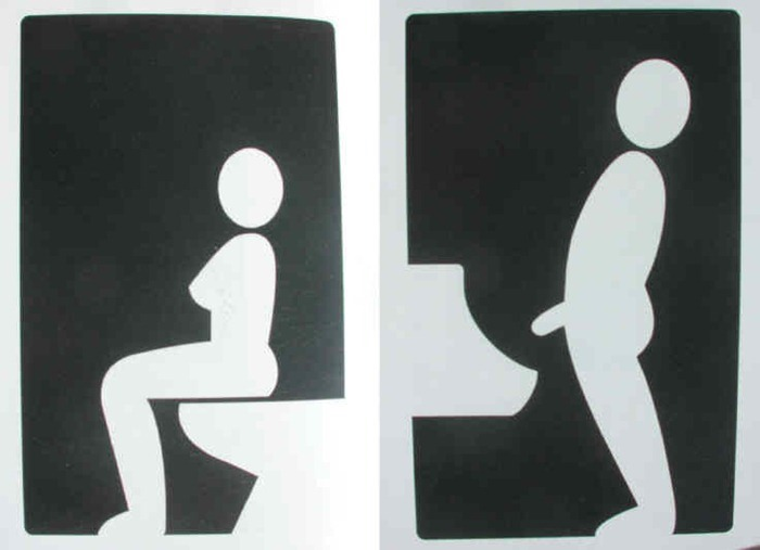 Toilet Signs 35 9