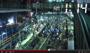 さよなら地上駅舎_東横線渋谷駅-2013_3_15−3_16 相直までの1日を振り返るドキュメント_-_YouTube2