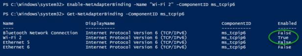Enable-IPv6