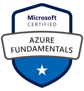 Microsoft Certified Azure Fundamentals (AZ-900) is an entry-level certification that covers the basic cloud technologies... but don't be fooled, you had better read the material!